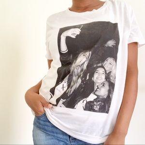 Victoria's Secret Selfie Semi Sheer T-shirt, L